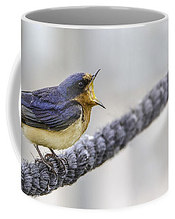 Coffee Mug featuring the photograph Oprah In The Marsh by Steven Santamour