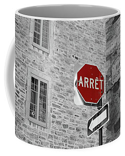 Optical Illusion, Quebec City Coffee Mug