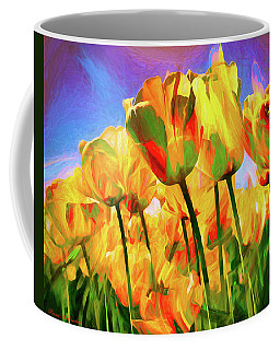 Coffee Mug featuring the digital art Optimism by Pennie  McCracken