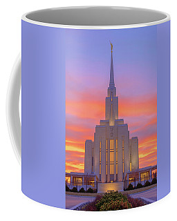 Oquirrh Mountain Temple IIi Coffee Mug