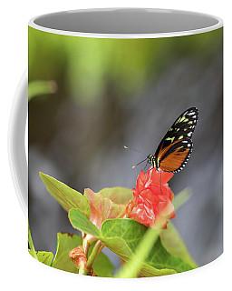 Orange And Black Butterfly Coffee Mug