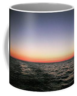 Orange And Black Coffee Mug
