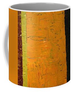 Orange And Brown Coffee Mug