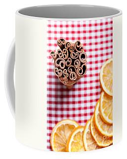 Orange And Cinnamon Coffee Mug