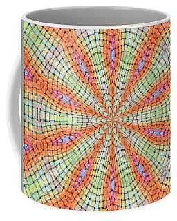 Coffee Mug featuring the digital art Orange And Green by Elizabeth Lock
