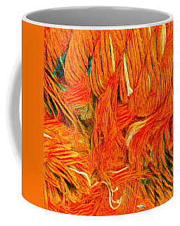 Orange Art Coffee Mug by Colette V Hera Guggenheim