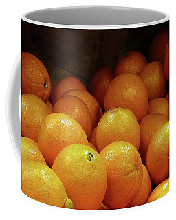 Orange Basket Coffee Mug