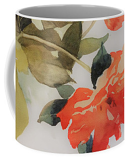 Coffee Mug featuring the painting Orange Blossom Special by Elizabeth Carr