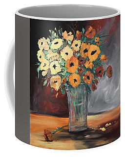 Orange Blossoms Coffee Mug