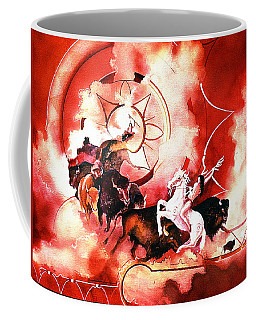Orange Buffalo Spirit Coffee Mug