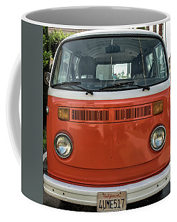 Orange Bus Coffee Mug