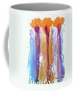 Orange Carnations Coffee Mug