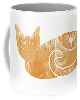 Orange Cat- Art By Linda Woods Coffee Mug
