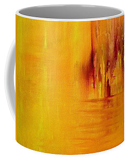 Coffee Mug featuring the painting Orange by Claire Bull