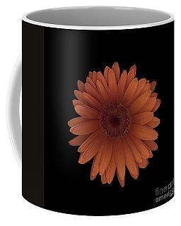 Orange Daisy Front Coffee Mug