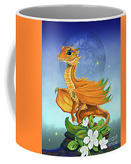 Orange Dragon Coffee Mug by Stanley Morrison