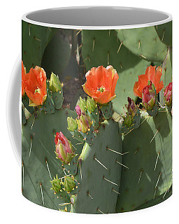 Orange Dream Cactus Coffee Mug