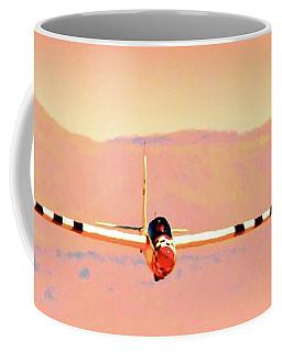 Orange Dream Sailplane Coffee Mug