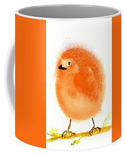 Orange Fluff Coffee Mug