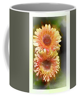 Orange Gebera Daisies Coffee Mug