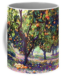 Orange Grove Of Citrus Fruit Trees Coffee Mug
