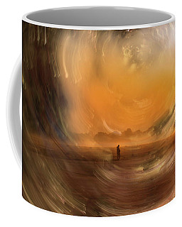 Orange Gust Coffee Mug
