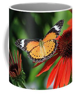 Orange Lacewing Coffee Mug