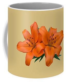Orange Lily Coffee Mug by Jane McIlroy