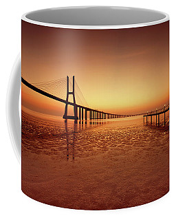 Coffee Mug featuring the photograph Orange  by Jorge Maia