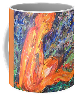 Orange Nymph Coffee Mug