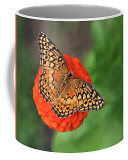 Orange Orange Green Coffee Mug