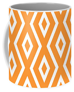 Peach Pattern Coffee Mug