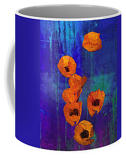 Orange Poppies Coffee Mug