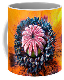 Coffee Mug featuring the photograph Orange Poppy by Stephanie Moore
