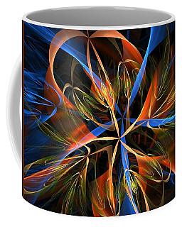 Orange Ribbons Coffee Mug