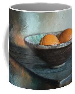 Coffee Mug featuring the photograph Orange by Robin-Lee Vieira