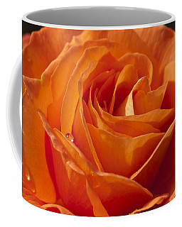 Orange Rose 2 Coffee Mug