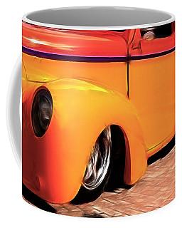Orange Rush - 1941 Willy's Coupe Coffee Mug