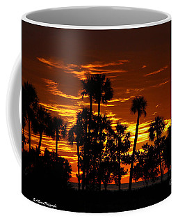 Orange Skies Coffee Mug