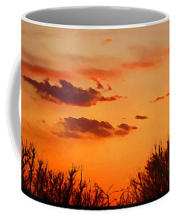 Orange Sky At Night Coffee Mug