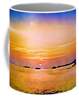 Orange Sky In Ixtapa, Mexico Coffee Mug