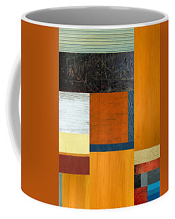 Coffee Mug featuring the painting Orange Study With Compliments 2.0 by Michelle Calkins