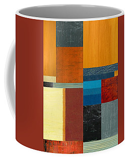 Coffee Mug featuring the painting Orange Study With Compliments 3.0 by Michelle Calkins