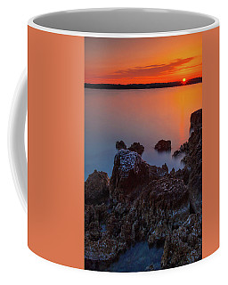 Orange Sunrise Coffee Mug