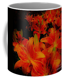 Spicey Tiger Lilies Coffee Mug