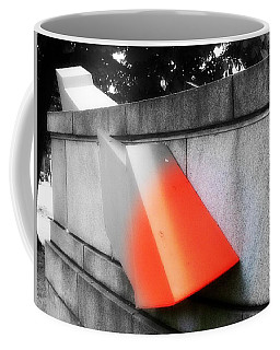 Orange Tipped Arrow Coffee Mug