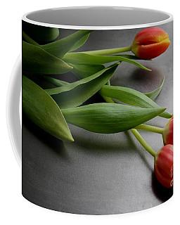 Orange Tulips Coffee Mug by Mary-Lee Sanders
