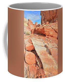 Orange Valley In Valley Of Fire Coffee Mug