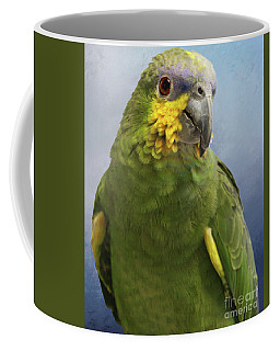 Orange Wing Amazon Parrot Coffee Mug