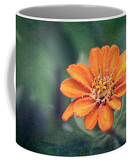 Orange Zinnia Coffee Mug